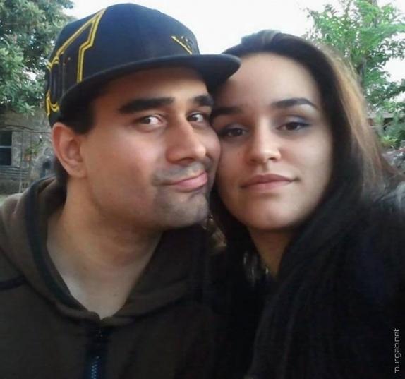 Дерек Медина с женой