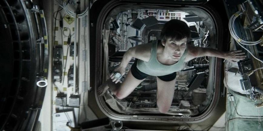 Гравитация —Сандра Буллок