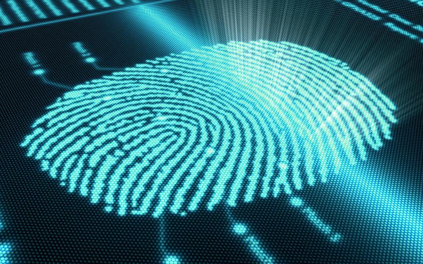 Отпечаток пальца британского ученого, нанюхавшегося кокаина