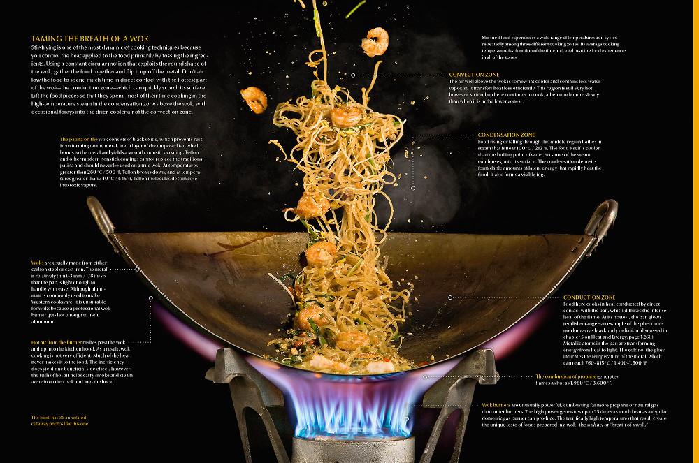 Иллюстрация из книги физика-кулинара Натана Мирвольда
