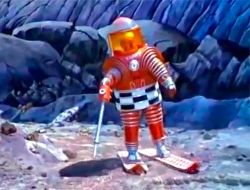 Космонавт на Луне, типа