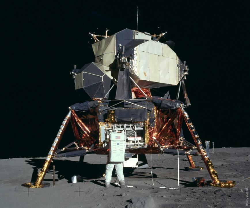 Лунные снимки в высоком разрешении