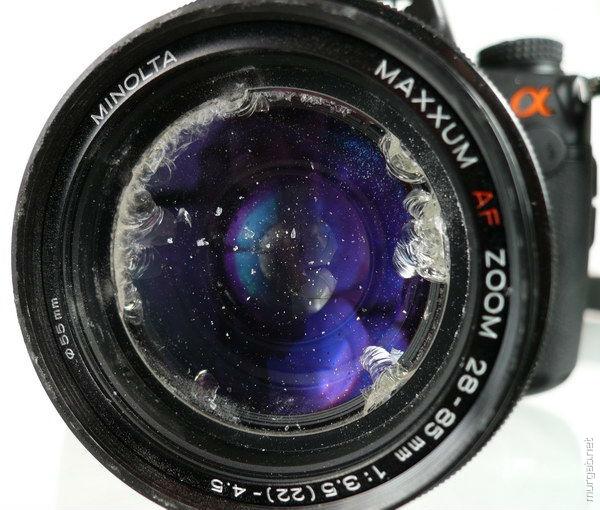 Влияние грязи на объективе на качество фотографий