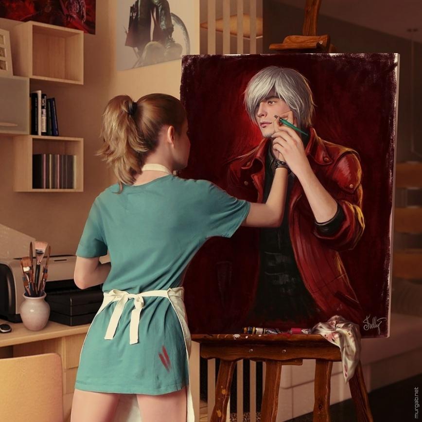 Картина в картине