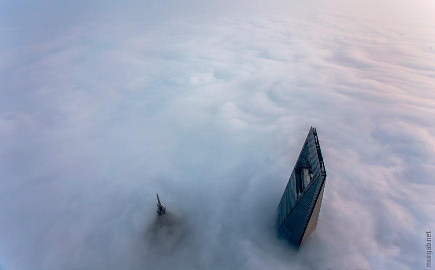 Башня JinMao и шанхайский финансовый центр
