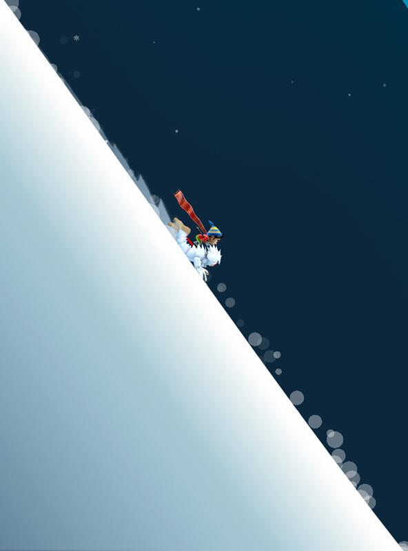 Скриншот Ski Safari для Android-а
