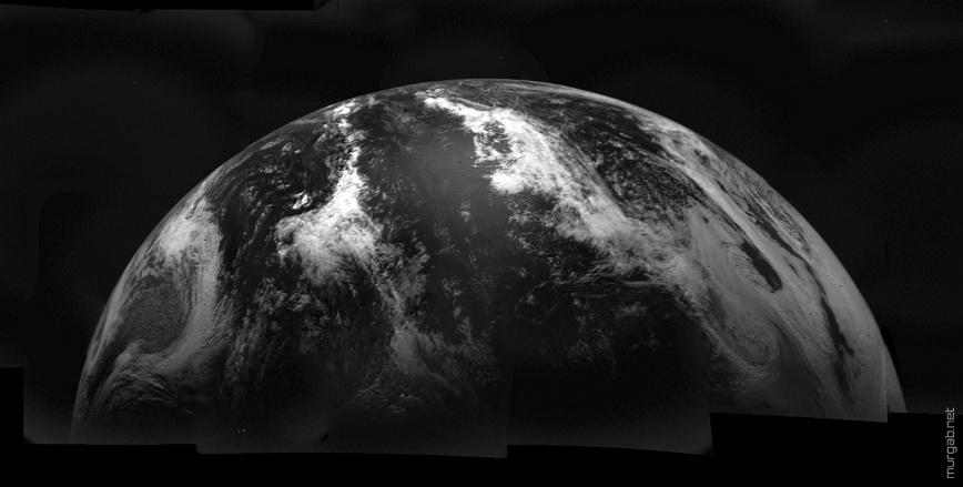 Одни из первых цифровых космических фотографий