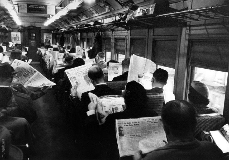 Чем развлекали себя люди в поездах 60-х