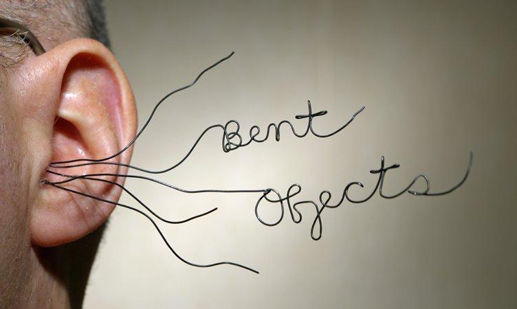 «Проволочный» арт-проект Bent Objects от Терри Бордера