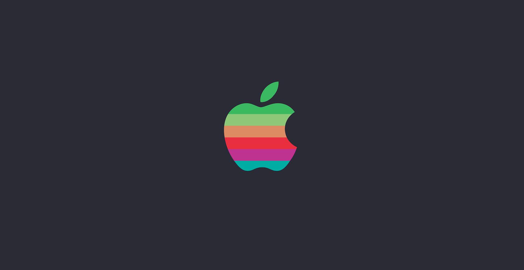 Ретро-логотип Apple