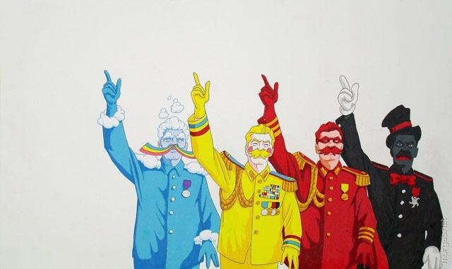 Цвета Сталина