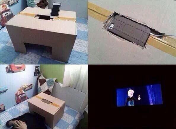 Самодельный домашний кинотеатр