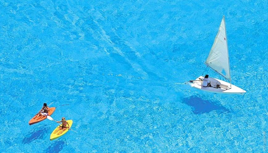 Самый большой в мире бассейн Сан Альфонсо дель Мар