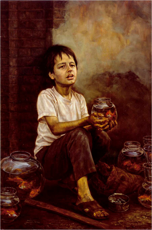 Картина иранского художника Имана Малеки
