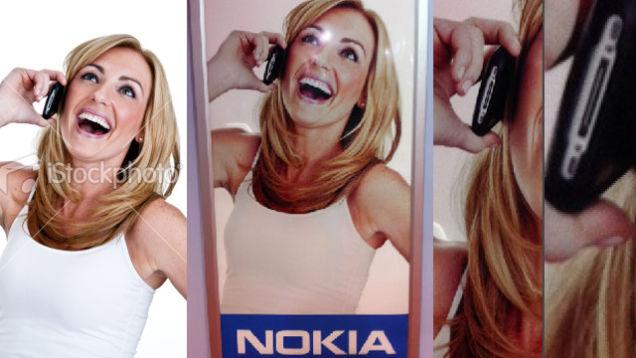Nokia использовала iPhone в рекламе своего смартфона