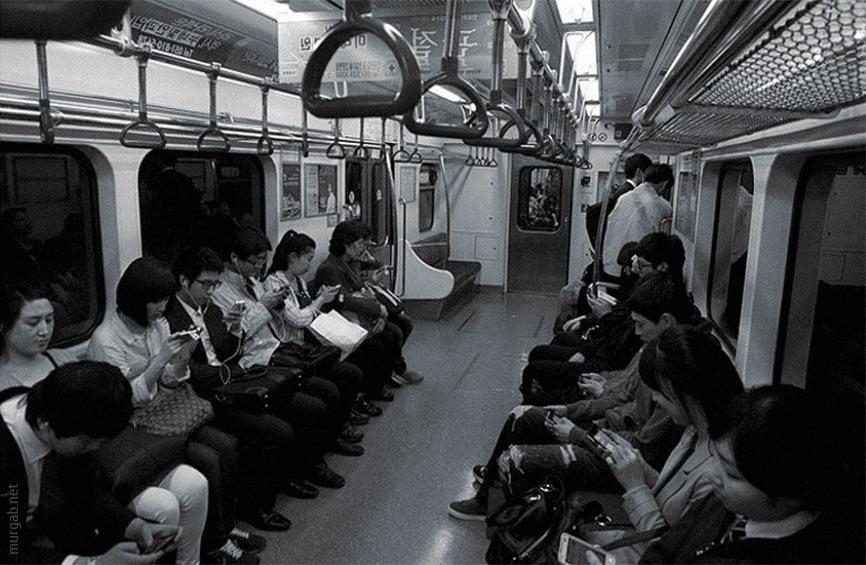 Чем развлекают себя люди в поездах сегодня