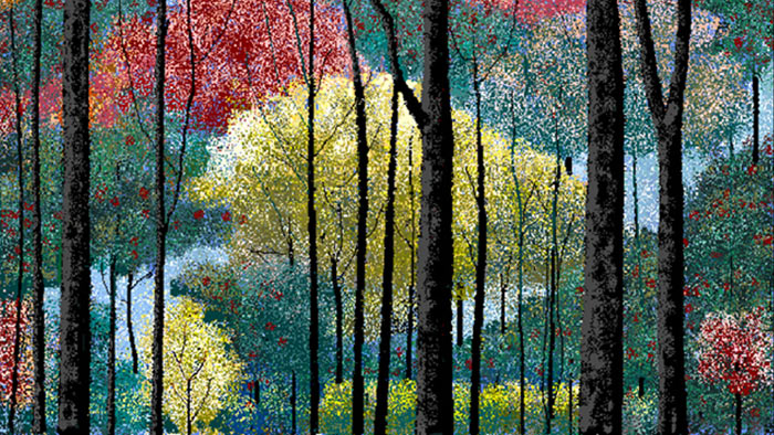 Картина Хала Ласко в MS Paint