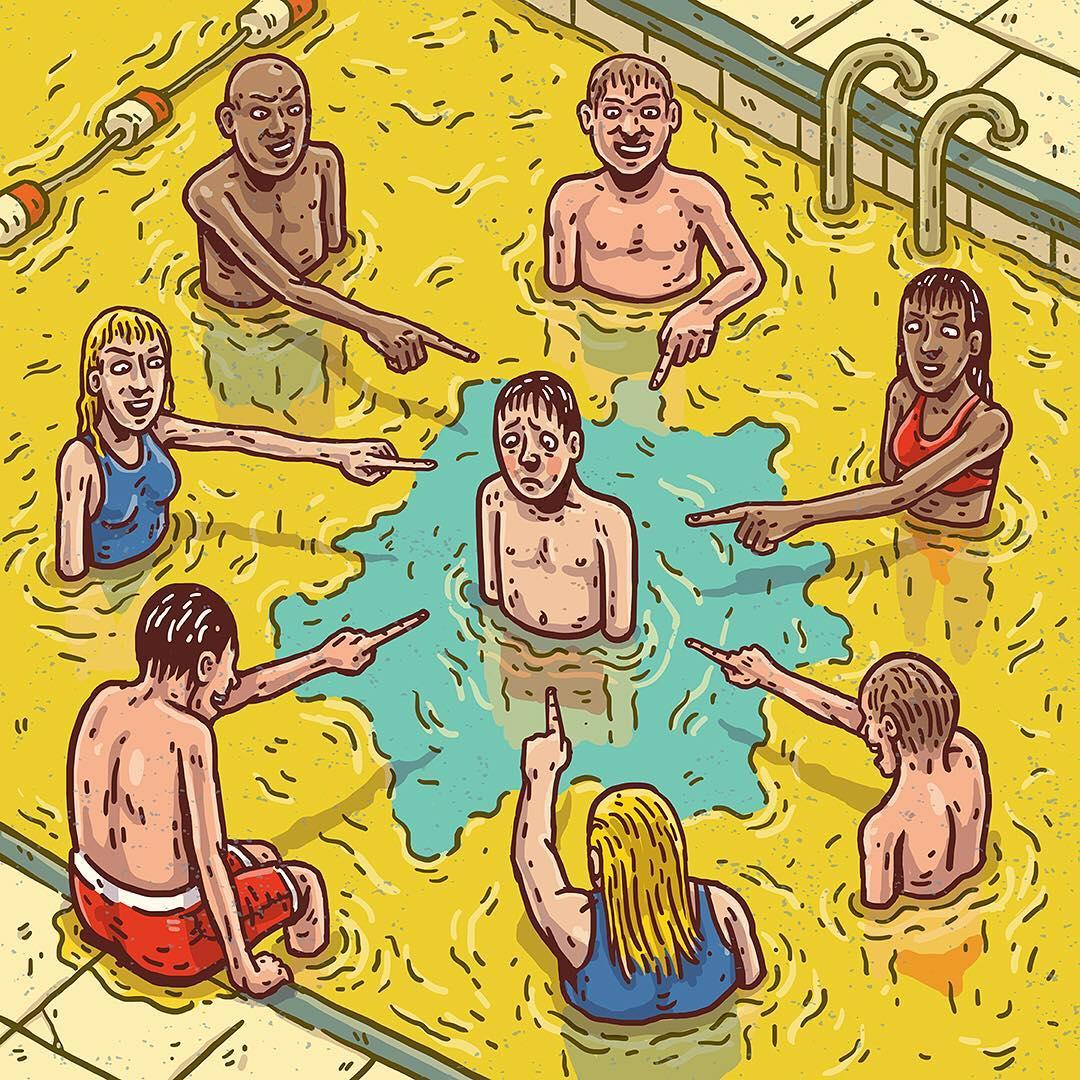 Иллюстрация Томми Уошбуша