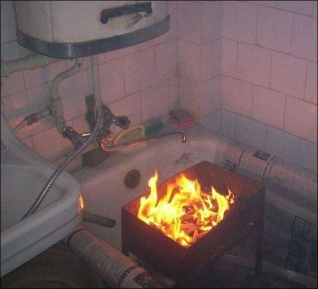 Так в России жарят шашлыки