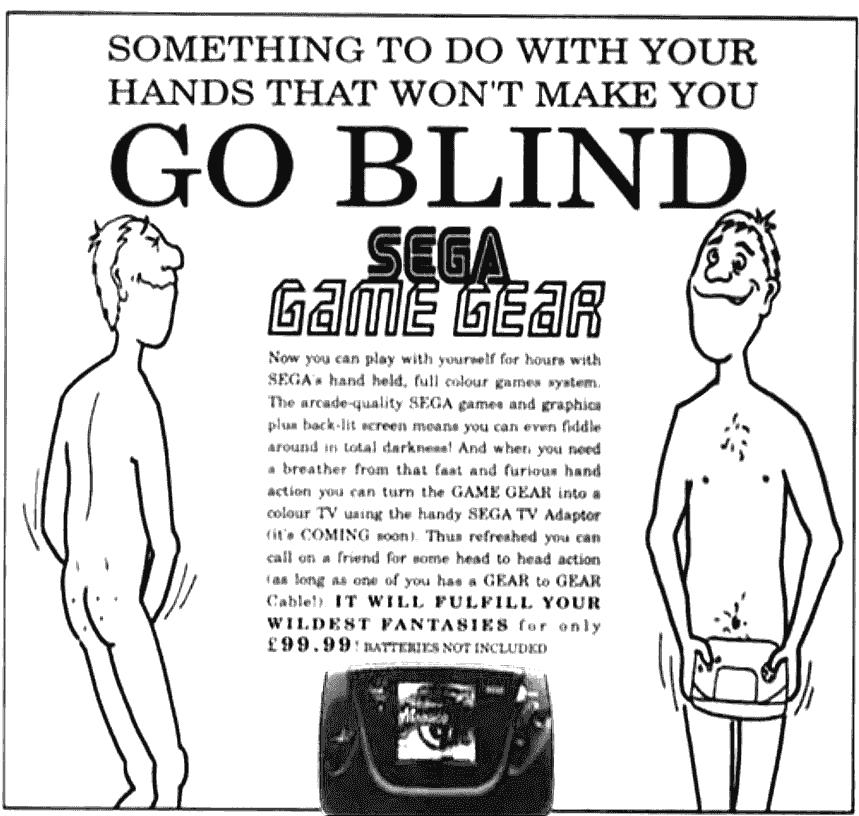 SEGA: С этим можно играть руками и при этом не ослепнуть