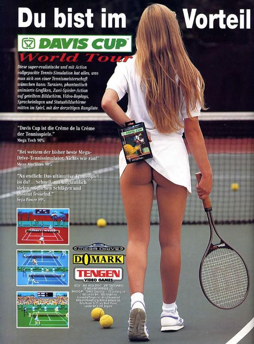 SEGA предлагает «сыграть в теннис»