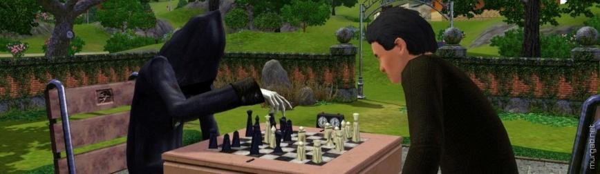Сим играет в шахматы со смертью