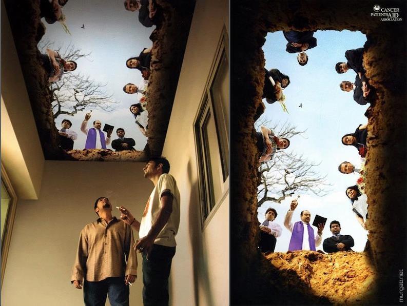 Социальная реклама для курильщиков