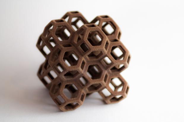 Пищевой 3D-принтер, печатающий сахаром
