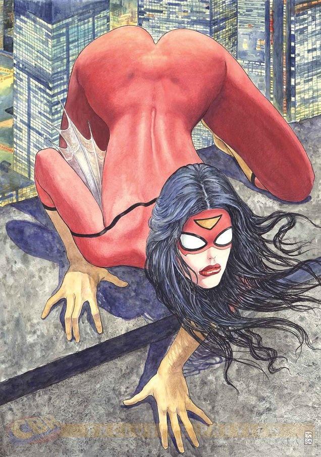 Очевидные проблемы с обложкой Spider-Woman