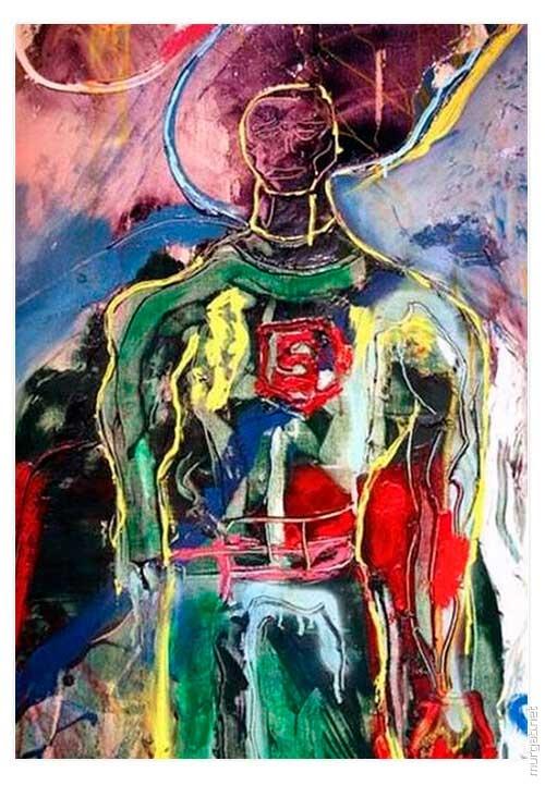 Картина Сильвестра Сталлоне