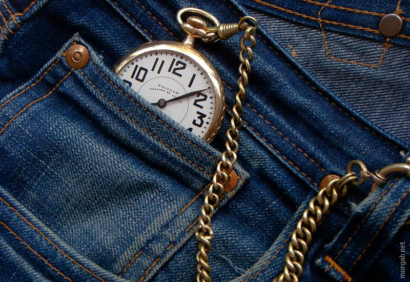 Карманные часы и кармашек для них